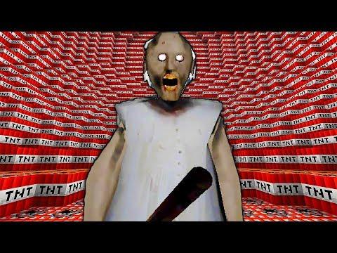 100,000 ДИНАМИТА ПРОТИВ БАБКИ ГРЕННИ В МАЙНКРАФТ ! Нуб взорвал Гигантский тнт в Minecraft Мультик