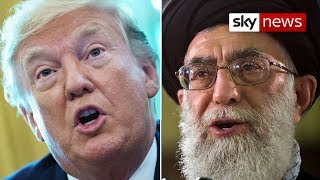 Iran tensions: Trump signs off new sanctions