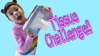 Tissue Box Challenge, family fun games