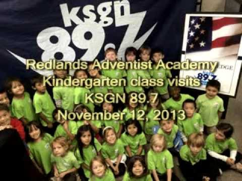Redlands Adventist Academy visits KSGN 89.7