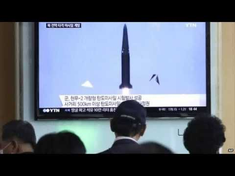 S Korea test fires missile to counter threat from North