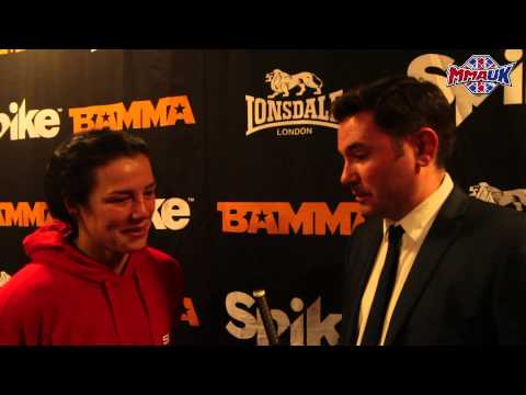 BAMMA 22 Post-Fight Interview: Sinead Kavanagh Talks To MMA UK's Bryan Lacey After Her Win In Dublin
