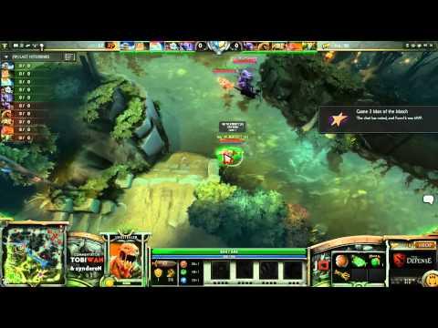 Na'Vi vs Kaipi GRAND FINAL Game 4 part 1   The Defense DOTA 2 Playoffs   TobiWan & syndereN