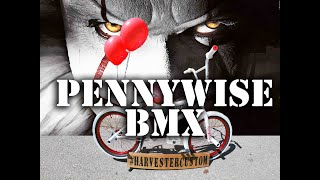 Pennywise The Clown (IT Chapter 2 2019) Custom BMX @ Harvester Bikes