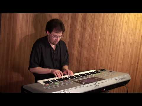 Valsa Sem Nome (Baden Powell) - Guitar on Yamaha Tyros 3