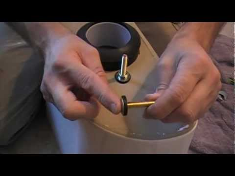 How To Install A New Toilet Part 2 of 3