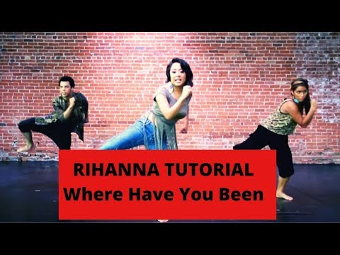 Dance Breakdown Tutorial #2: Rihannawhere Have You Been Part I (mirrored) video