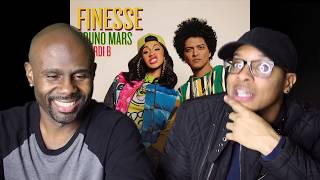 Download Lagu Bruno Mars - Finesse (Remix) Feat. Cardi B (REACTION!!!) Gratis STAFABAND