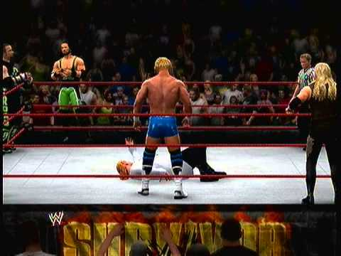 Now Playing WWE 13 XBOX360 Brood vs DX Blind Ref