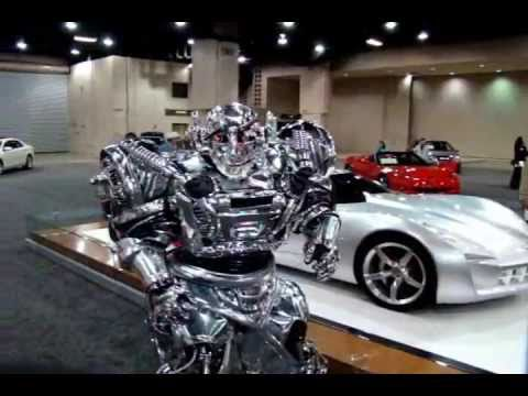 Robot At Auto Shows