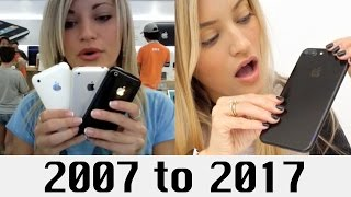 10 Years of iPhones | iJustine