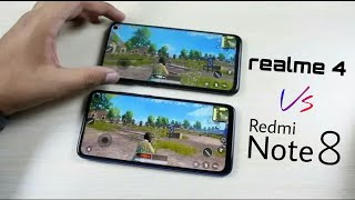Redmi Note 8 ⚡ Realme 4 | PUBG MOBILE | first look | Price Note 8 and Realme 4 | Launch Date| Camera