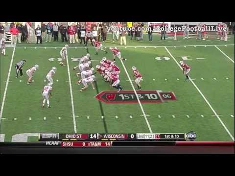 Ohio State DT Johnathan Hankins vs Wisconsin ᴴᴰ
