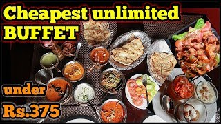CHEAPEST UNLIMITED BUFFET IN DELHI (VEG and NON VEG) at just Rs 375 | JODHA AKBAR RESTAURANT |