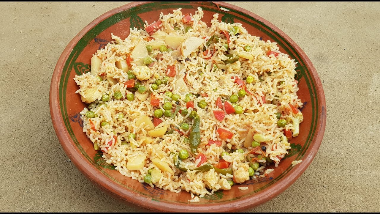 Vegetable Pulao Recipe | Mix Vegetable Pulao Recipe by Mubashir Saddique | Village Food Secrets