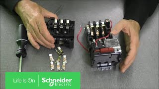 Replacing Contacts on NEMA Size 00, 0 & 1 Starters | Schneider Electric Support