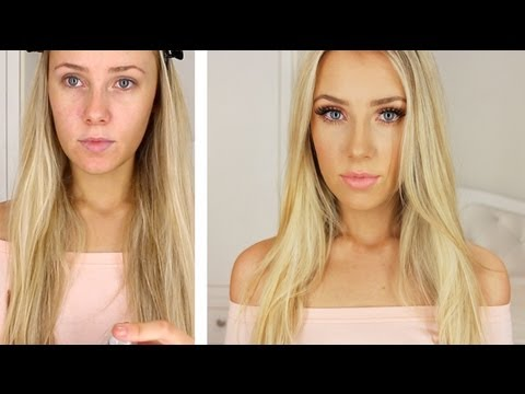 Everyday Coral Makeup Tutorial