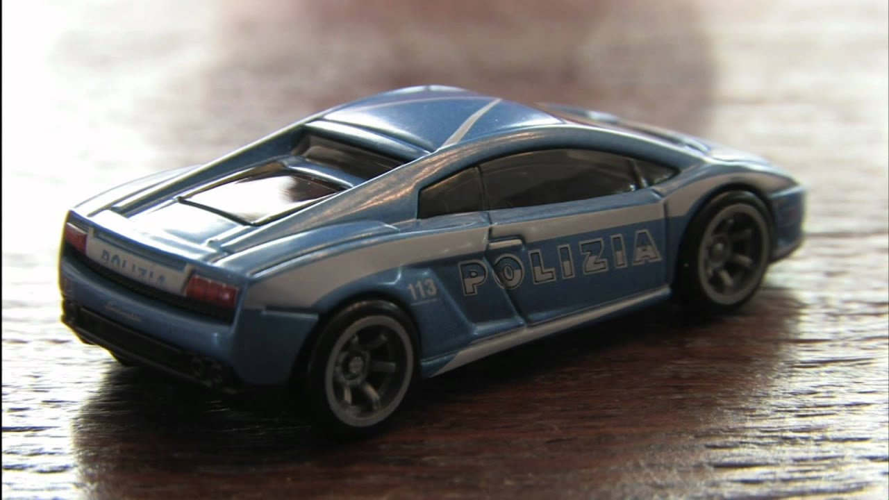 lamborghini police car hot wheels speed machines review. Black Bedroom Furniture Sets. Home Design Ideas