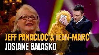 Jeff Panacloc au grand cabaret avec Josiane Balasko