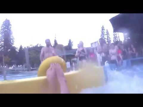 GoPro Hero 3 - Hanmer Springs Thermal Pool Raft Ride NZ