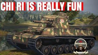 Chi Ri Autoloader Updated World of Tanks Blitz