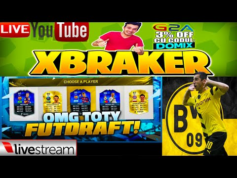 Show Total - LiveStream FIFA 16 FUT DRAFT + BVB09 + CS:GO