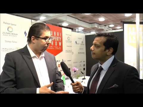 Sunil Jaiswal, Organizer - Dubai Property Show 2015