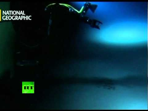 Mariana Trench 1st-ever look: Cameron releases video from 7-mile deep