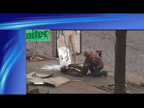 Ucrania  Así atacaban francotiradores a opositores en Kiev COMPARTELO