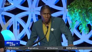 South Africa's Caster Semenya receives Wilma Rudolph Courage Award