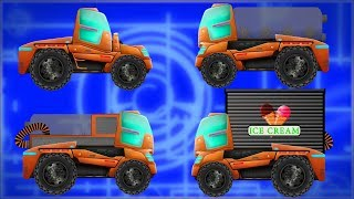 Kids TV Channel Transformer Ice Cream Truck Educational Video For Toddlers
