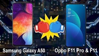 Oppo F11 Pro & F11 Vs Samsung Galaxy A50 Comparison Specifications & Opinion In Hindi