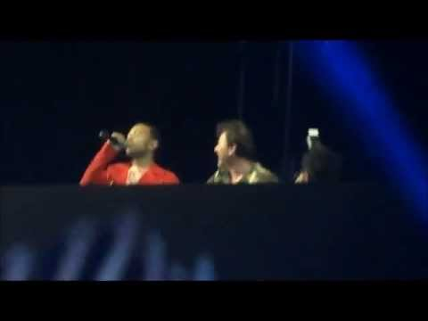 NEW Benny Benassi and John Legend Dance the Pain Away at Coachella 2013