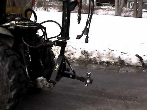 Fifth Wheel To Gooseneck Hitch >> FLEXpoint 3 Point Gooseneck Tractor Hitch - YouTube