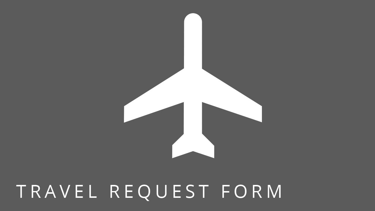 Sharepoint Templates Employee Travel Request Form Youtube