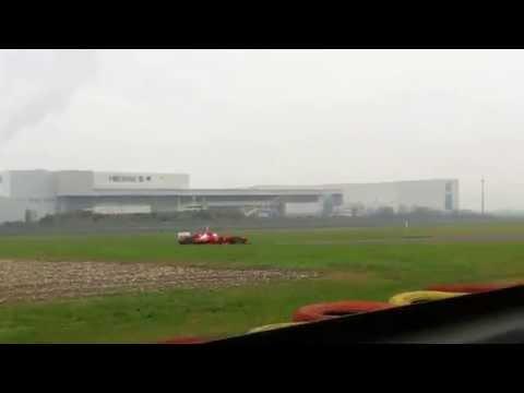 Primo giorno in Ferrari per Sebastian Vettel
