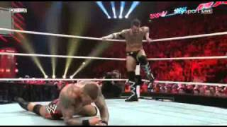WWE RAW 04/18/11 Orton vs Punk PT2