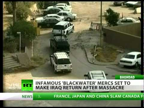 'Academi' of War: Blackwater back in Iraq for a little greenback