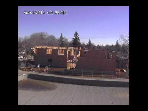 Dauphin Clinic Pharmacy - Construction Timelapse - Horizon Builders Ltd. - Dauphin, MB