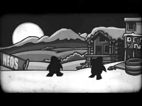 (club penguin) la noche del trineo viviente partes 1-2-3