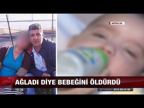 Ağladı diye bebeğini öldürdü! - 17 Ocak 2018