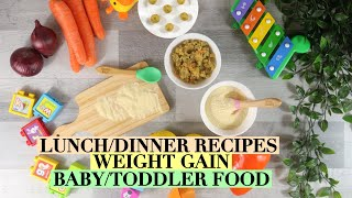 WEIGHT GAIN BABY FOOD RECIPES | COUSCOUS RECIPES FOR BABY & SEMOLINA RECIPES FOR BABY | RAVA RECIPES