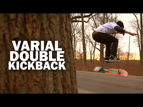 Varial Double Kickback: Kyle Kraus || ShortSided