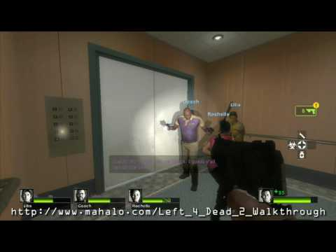 Left 4 Dead 2 Walkthrough - Campaign 1: Dead Center - Hotel P2