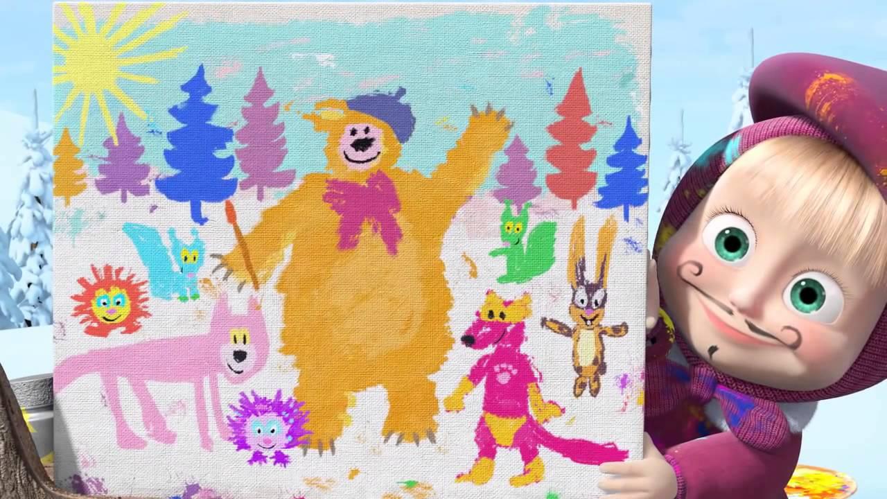 маша и медведь смотреть все подряд бесплатно все серии: