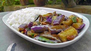 Download Lagu Thai stir-fried Eggplant   Vegan Vegetarian Recipe Gratis STAFABAND