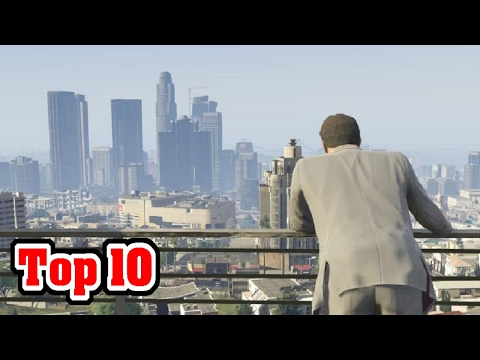 10 Best OPEN WORLD Video Games Of All Time