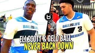 LiAngelo Ball & Eli Scott NEVER Back Down! Gelo & Eli