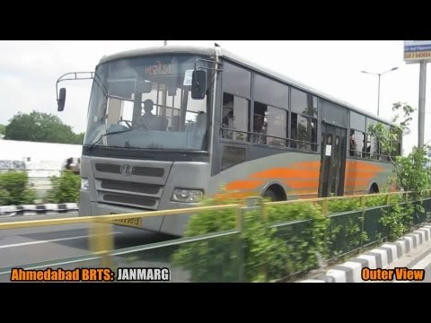 World's Best: Ahmedabad BRTS- JANMARG in Gujarat, India!