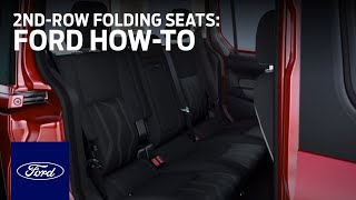 Transit Connect 5-Passenger: 2nd-Row Folding Seats | Ford How-to | Ford